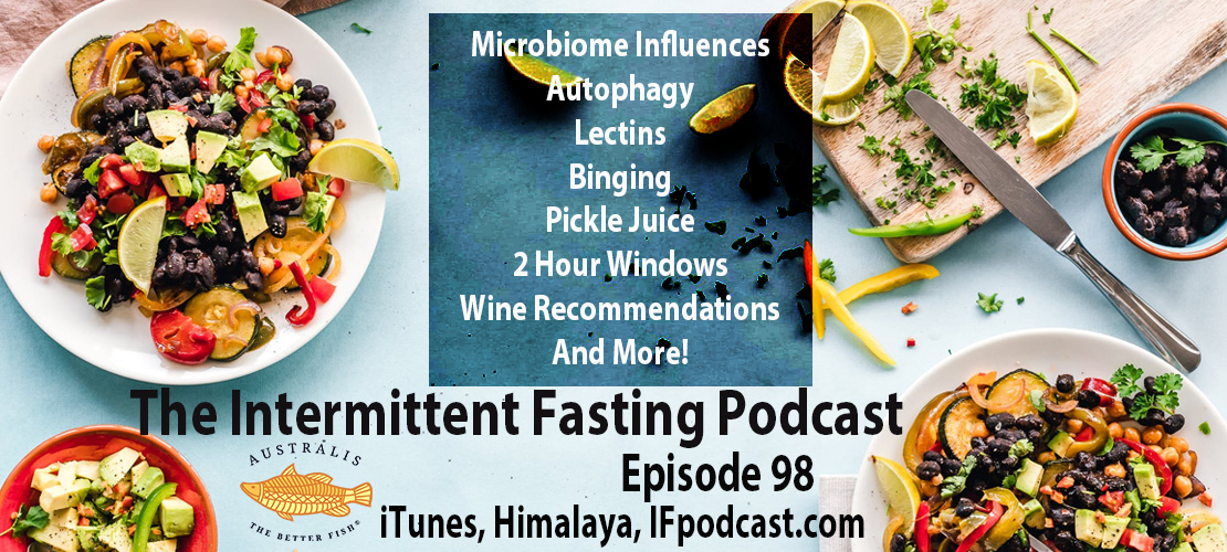 The Intermittent Fasting Podcast Episode 98: Microbiome Influences